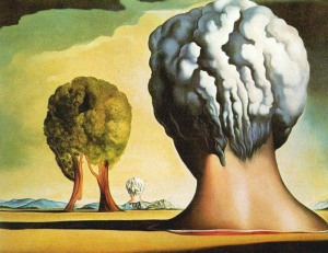 Salvador Dali - Three Sphinxes of Bikini